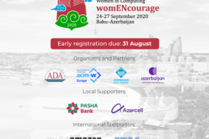 ADA University will virtually host the 7th ACM Celebration of Women in Computing: womENcourage 2020