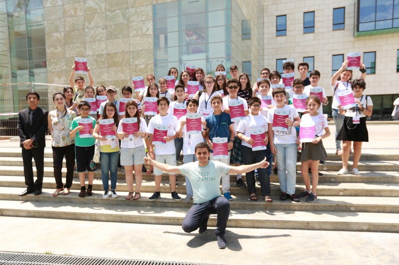 "The First Summer Camp in partnership with ""Tamiz Shahar"" OJSC successfully completed at ADA University"