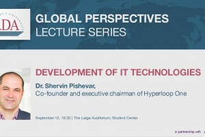Lecture by Dr. Shervin Pishevar on Development of IT Technologies